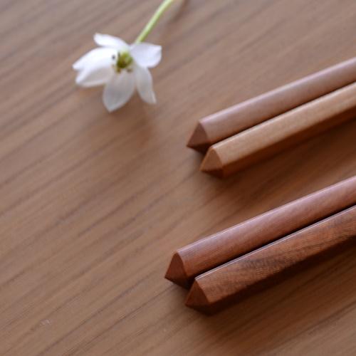 大澤真琴 天然木 箸