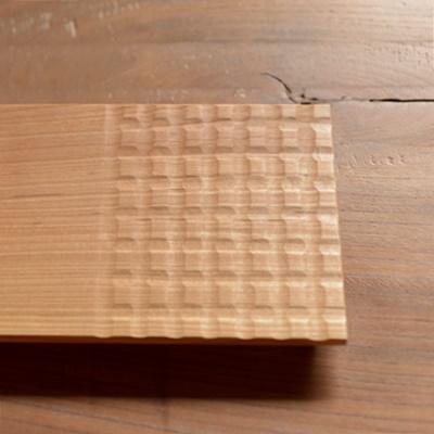 天然木コースタープレート gr001