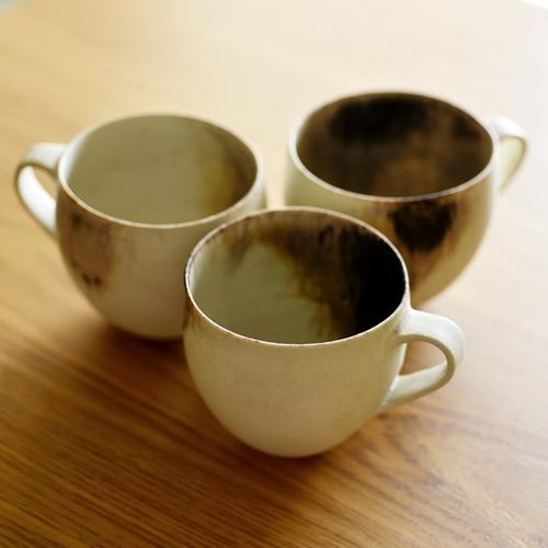 紫蓮 shell marble(黒) マグカップ