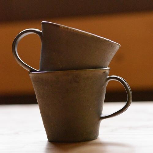 馬場浩二 掛け分けマグカップ