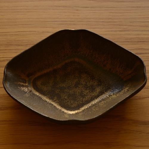 橋本尚美 菱型小皿