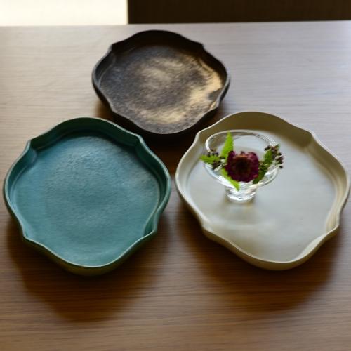 橋本尚美 楕円皿 Deco