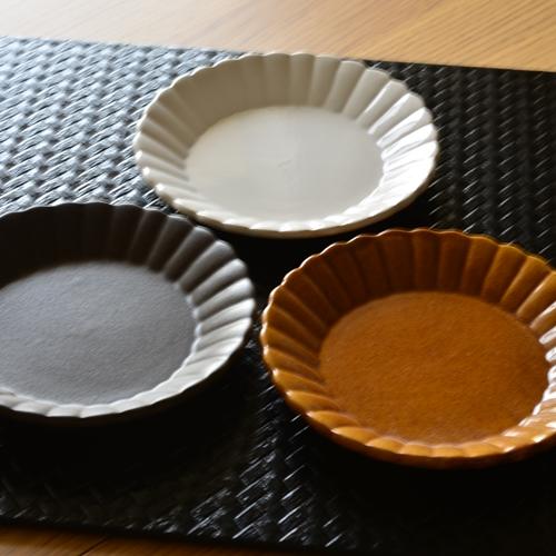 長尾徳太郎 マーガレット皿13.5cm
