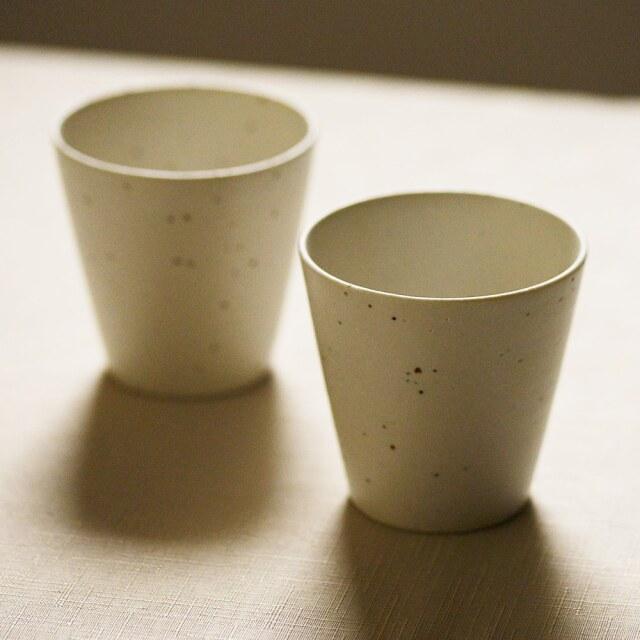藤田千絵子 みかげ土 ストレートカップ
