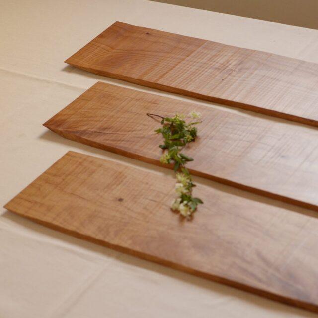 大澤真琴 天然木 ディナーボード