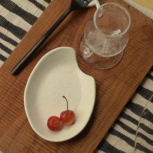 かなもとあきこ 半磁 rice plate