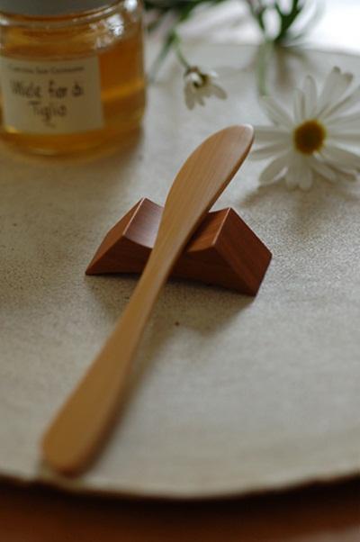 竹製バターナイフ