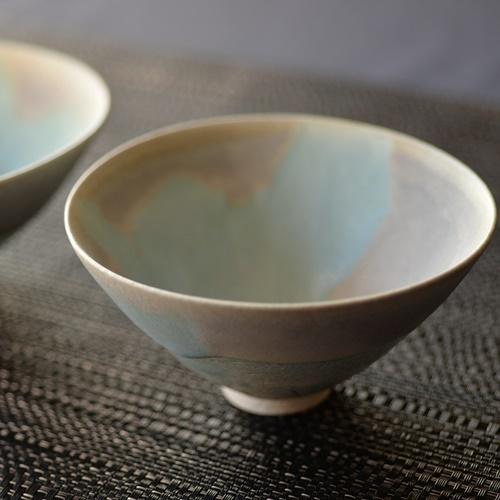 紫蓮 monet ターコイズ 飯碗