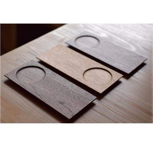 中西朝一 木製ティープレート