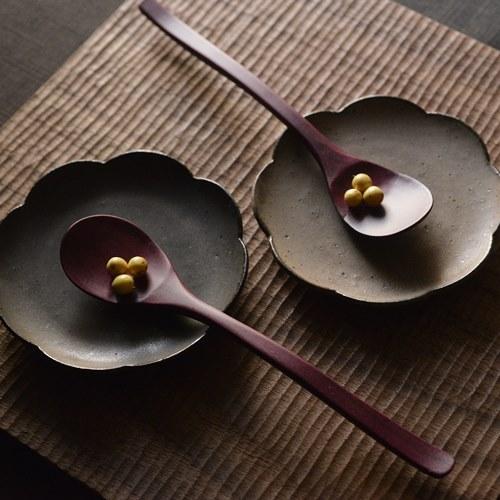 大澤真琴 天然木 デザートスプーン