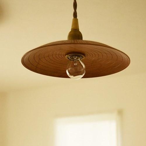ふるいともかず 木製ランプシェード