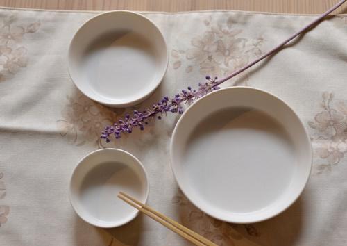 白磁シャーレ皿