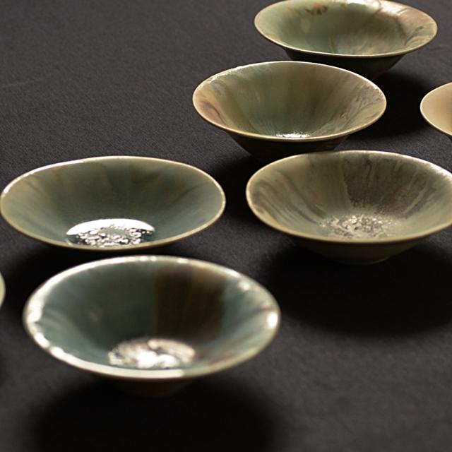 紫蓮  yuragi  ボウル turquoise