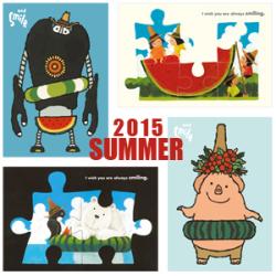 ポストカード2015 Summer [アイボリー・武内祐人]/夏カード