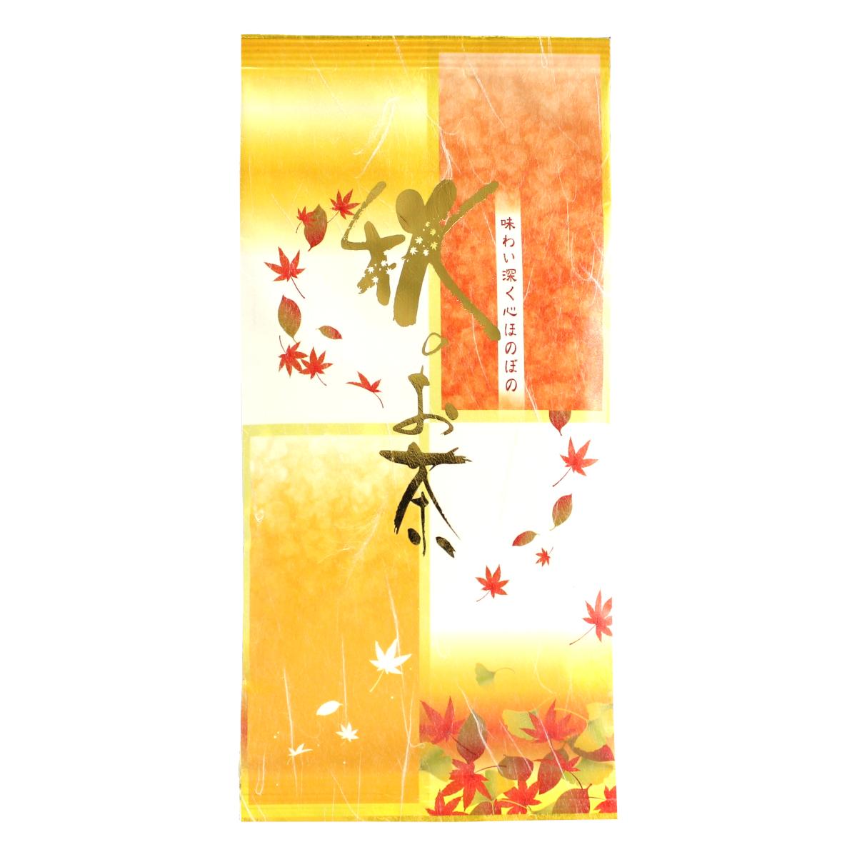 ☆秋季限定品☆【278】秋のお茶(抹茶入り深むし茶) 100g 【メール便可】