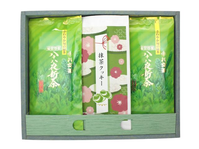 【G-340】抹茶クッキー・八十八夜新茶ギフト
