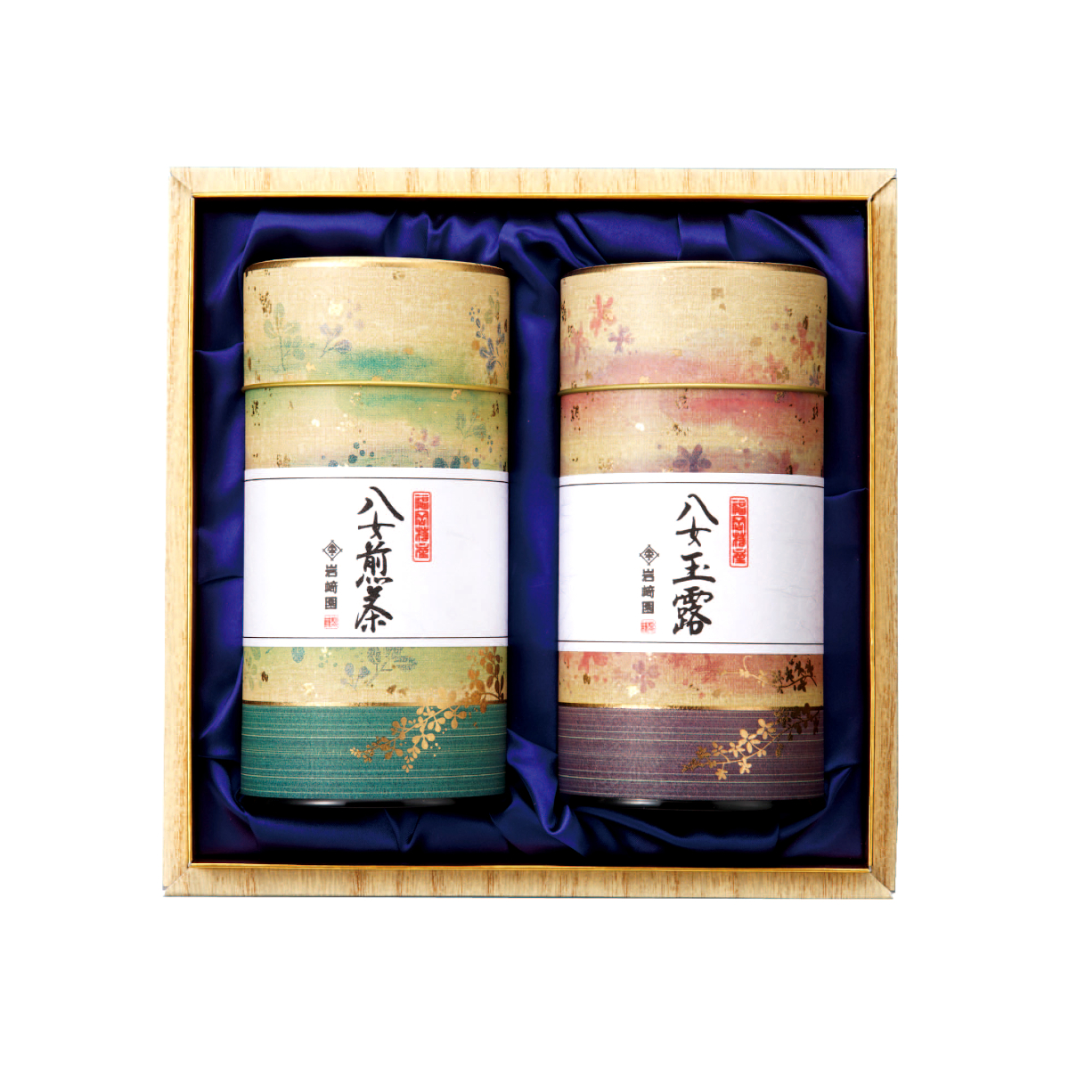 【G-602・ヌニ】玉露銀・特上煎茶 170g×2本ギフト