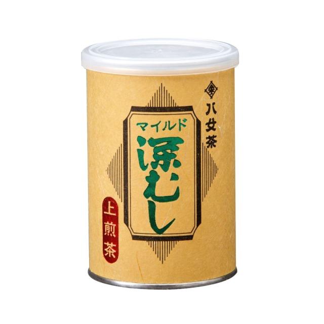 【ト】マイルド深むし・上煎茶(缶) 100g
