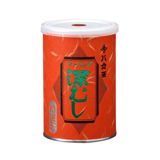 【チ】マイルド深むし・特選茶(缶) 100g