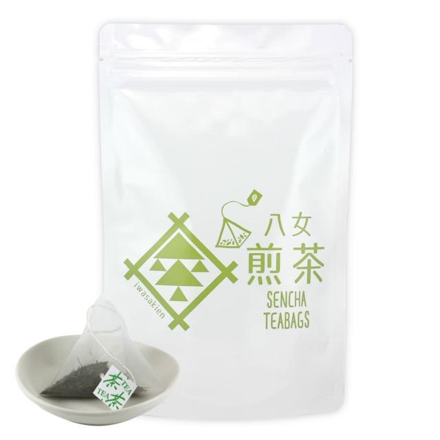 【テ】煎茶ティーバッグ(ヒモ付) 5g×18ヶ入<お湯出し可>