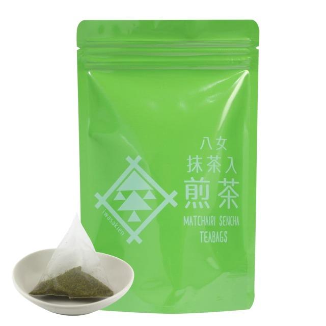 【ヒ】抹茶入煎茶ティーバッグ 5g×18ヶ入<お湯出し・水出し可>