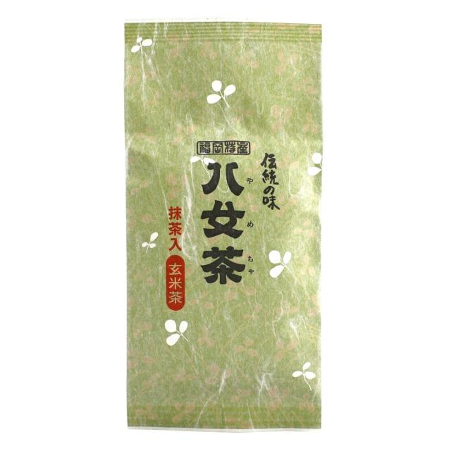 【47】抹茶入玄米茶 100g 【メール便可】