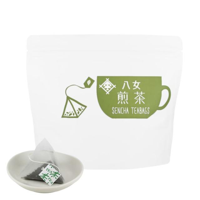 【49】カップ用タグ付煎茶ティーバッグ 2.5g×25ヶ入<お湯出し可>