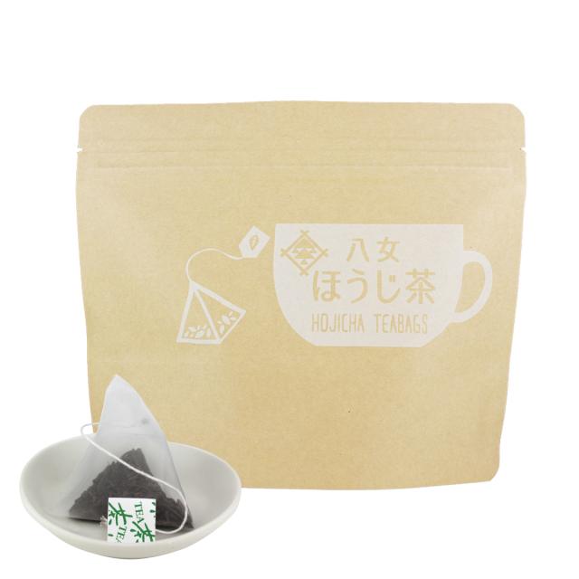 【50】カップ用タグ付ほうじ茶ティーバッグ 2.5g×20ヶ入<お湯出し可>