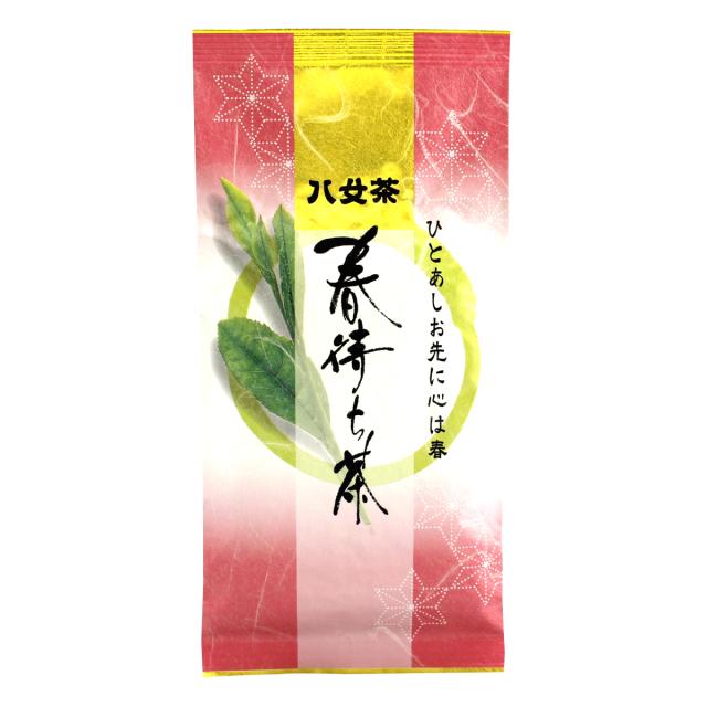 ☆春季限定品☆【285】春待ち茶(抹茶入り白折) 100g 【メール便可】