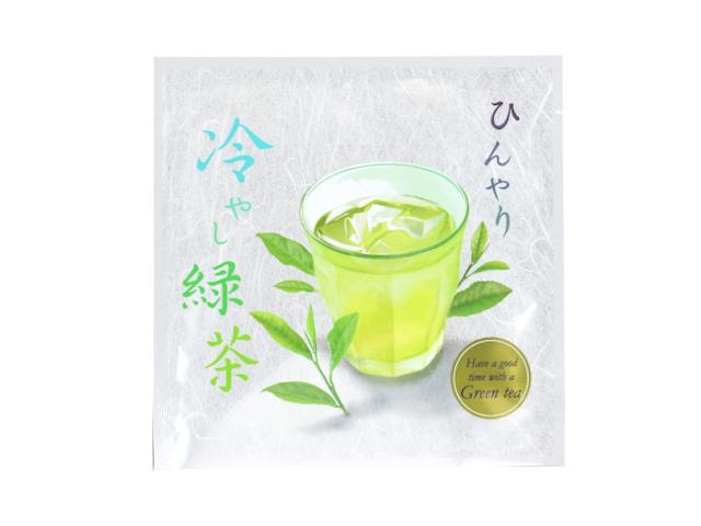 冷やし緑茶一煎茶