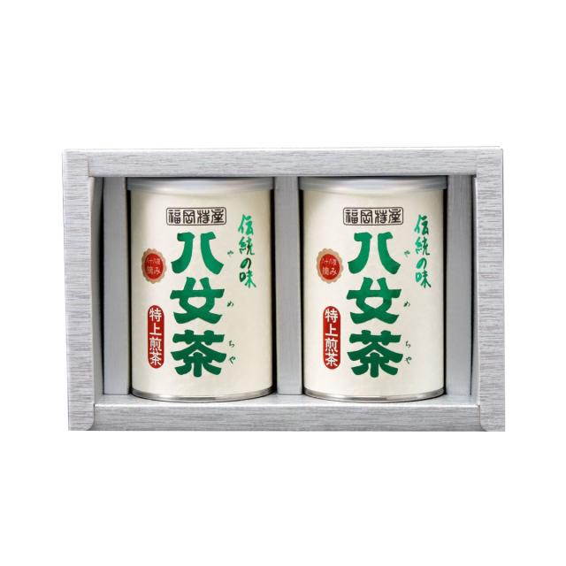 【G-204・ニ】特上煎茶 100g×2缶ギフト