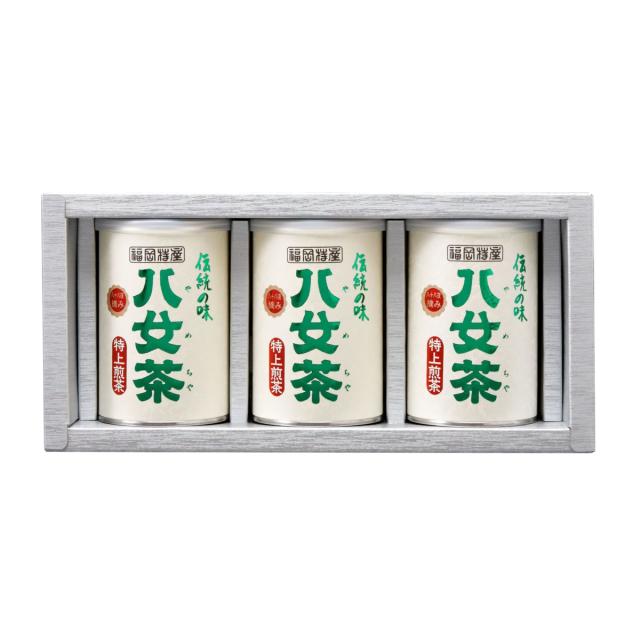 【G-207・ニ】特上煎茶 100g×3缶ギフト