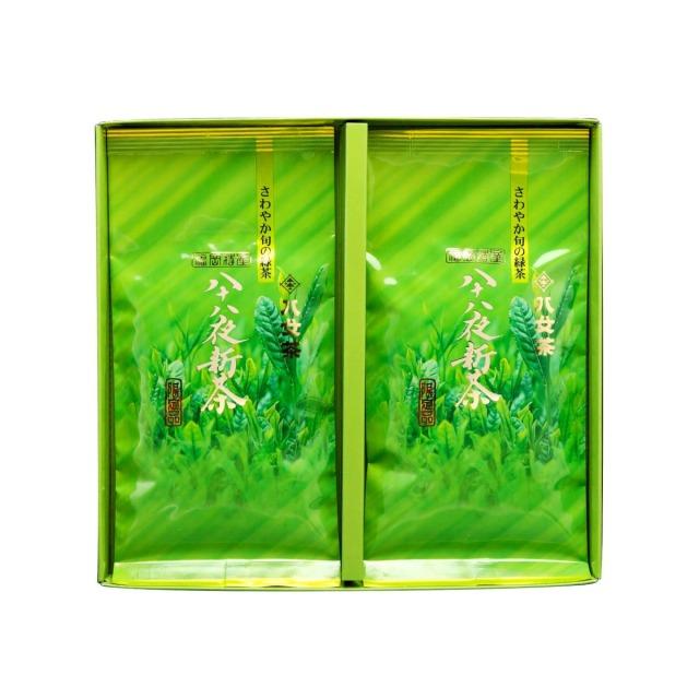 【G-215・ア】八十八夜新茶 100g×2袋ギフトセット