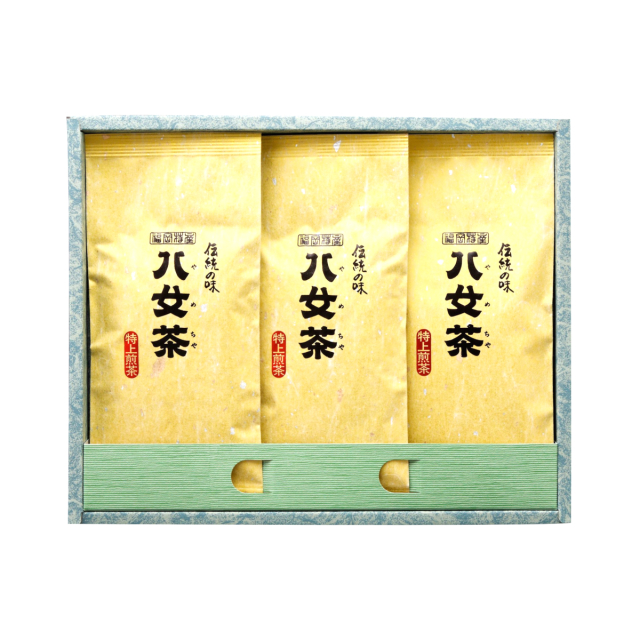 【G-221・ニ】特上煎茶 100g×3袋ギフト
