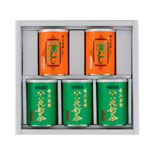 【G-240・アフ】八十八夜新茶・マイルド深むし特上 100g×5缶