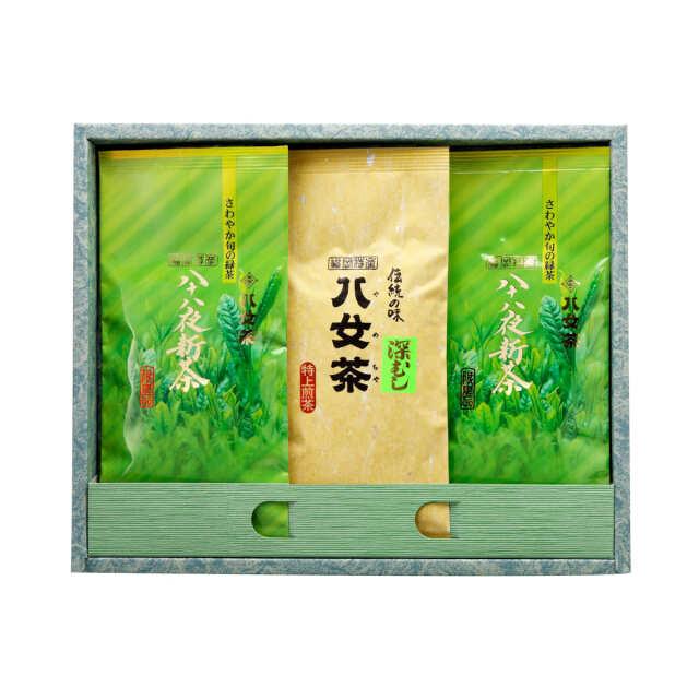 【G-268・アフ】八十八夜新茶 ・マイルド深むし特上 100g×3袋ギフトセット