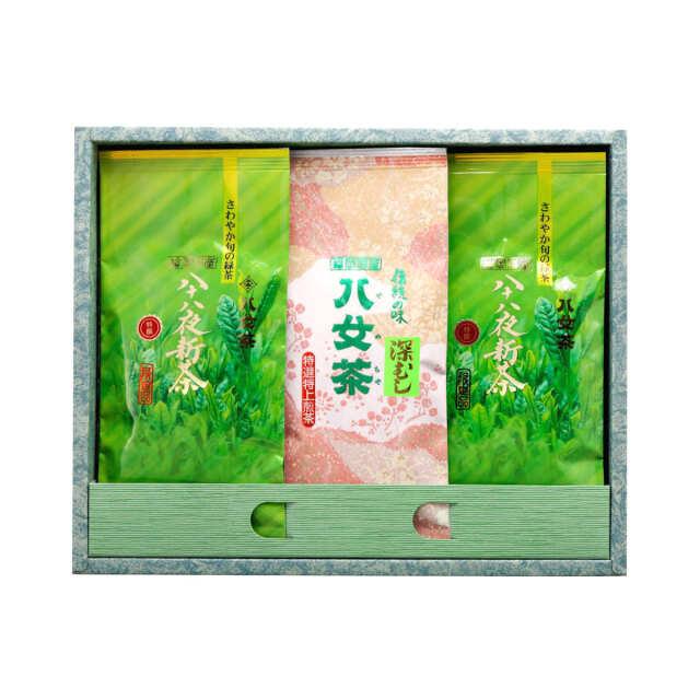 【G-270・アキ】特選八十八夜新茶・マイルド深むし特選 100g×3袋ギフトセット