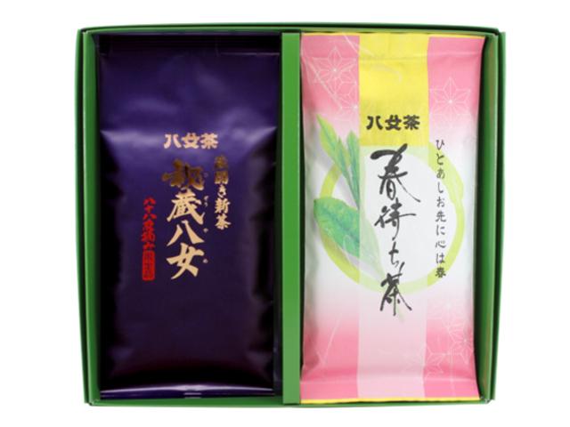 【G-287・コ春】秘蔵八女・春待ち茶 100g×2袋ギフト