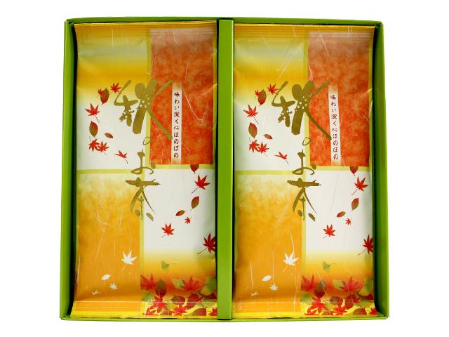 【G-290・秋】秋のお茶 100g×2袋ギフト
