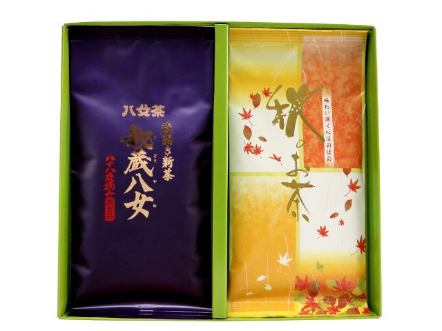 【G-291・コ秋】秘蔵八女・秋のお茶 100g×2袋ギフト