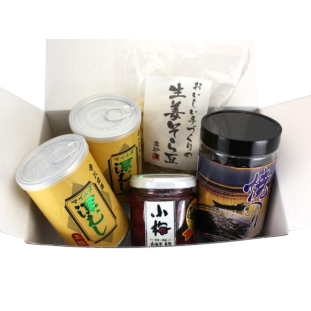【G-299・ト食彩】深むし・上煎茶と和の食彩詰合せギフト