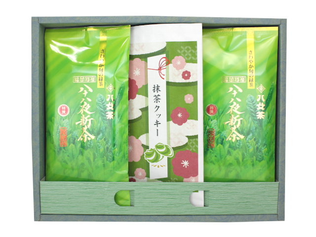 【G-345】抹茶クッキー・特選八十八夜新茶ギフト