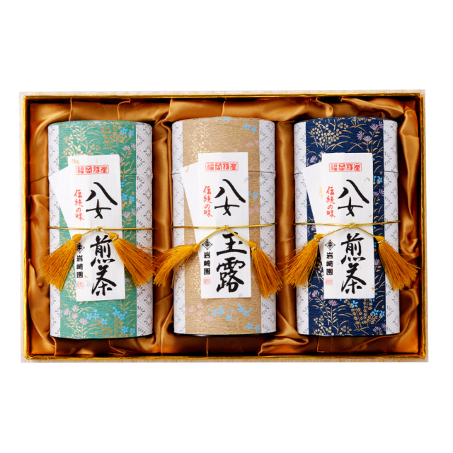 【G-600・ルホチ】玉露金・極上煎茶・マイルド深むし特選 170g×3本ギフト
