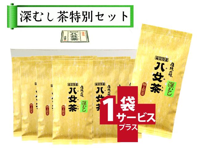 【T-5・フ】マイルド深むし特上煎茶 10+1袋