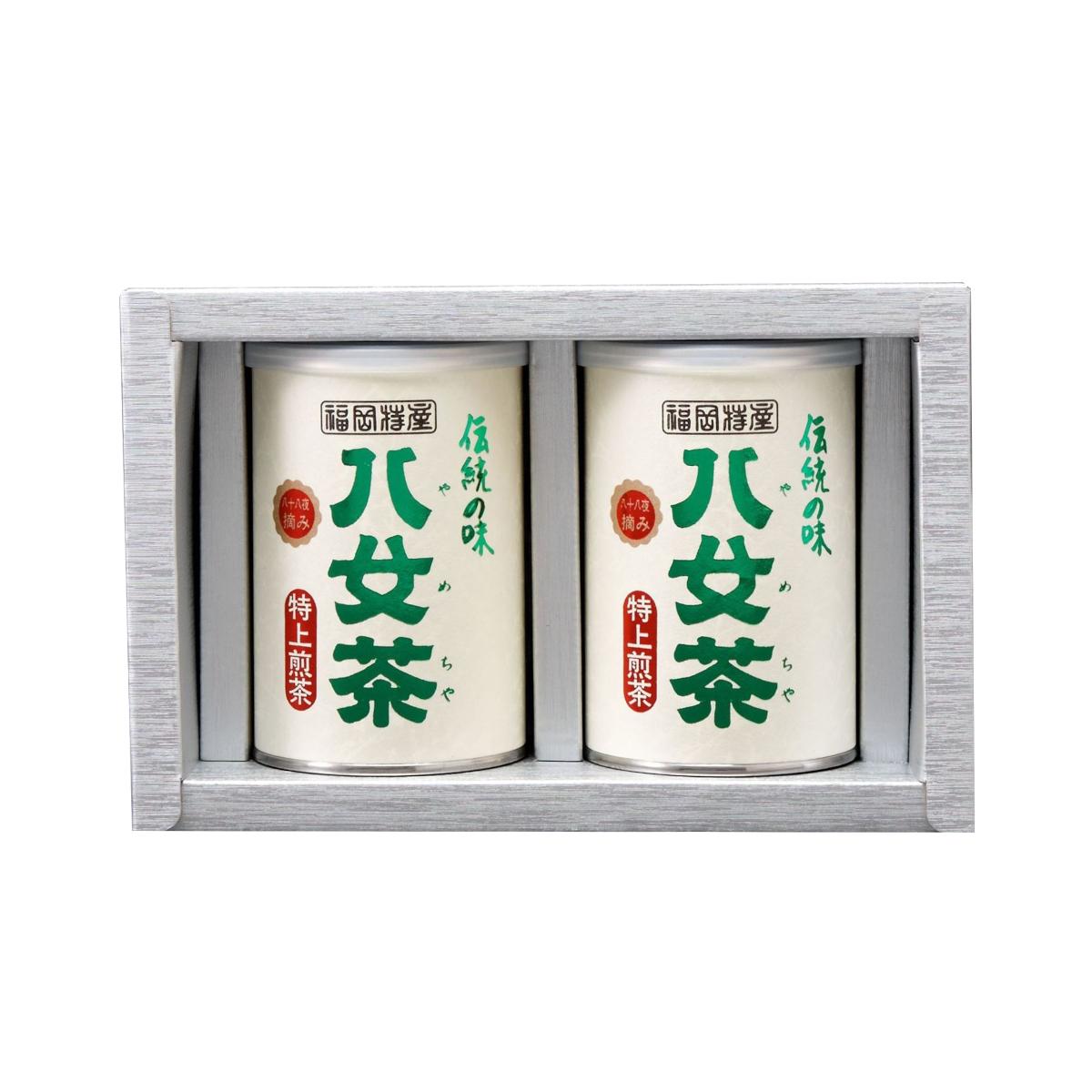 【G-204・ニ】特上煎茶 2缶ギフト