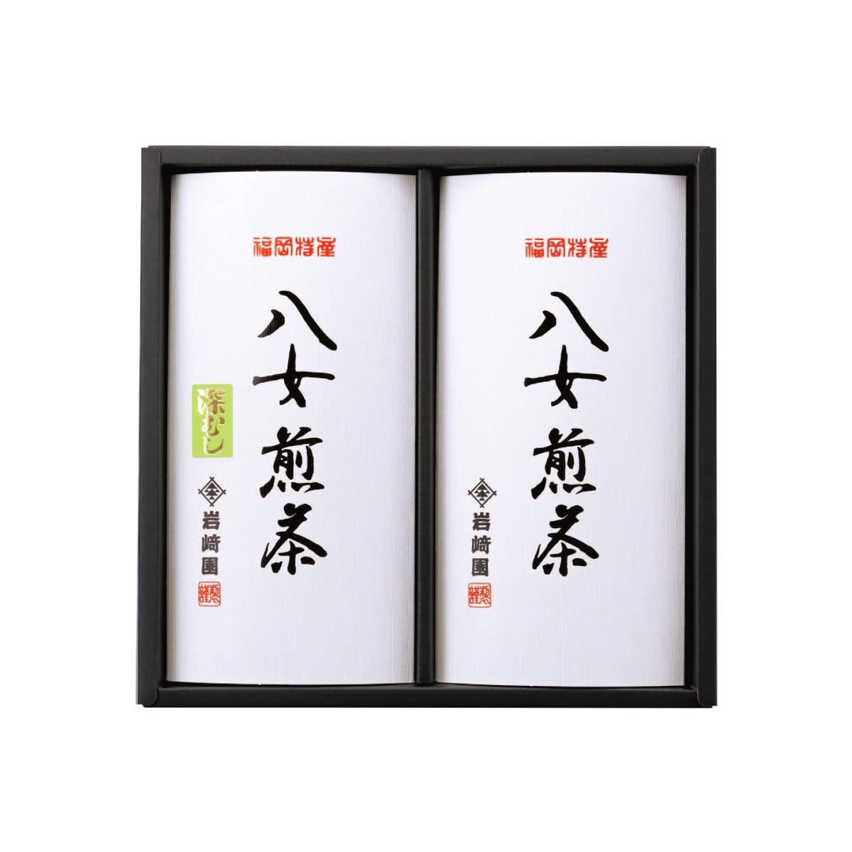 【G-296・ニフ】≪仏事用≫特上煎茶・深むし茶 80g×2本ギフト