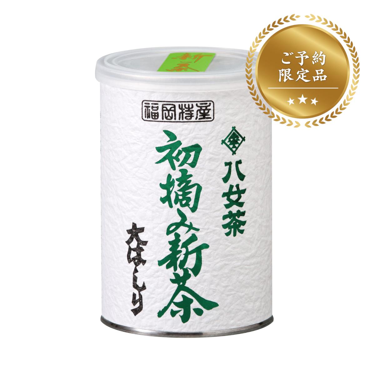 ≪予約限定生産≫【16】初摘み新茶大はしり