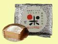 イワセのお米、鮮度長持ち真空アルミパック包装。