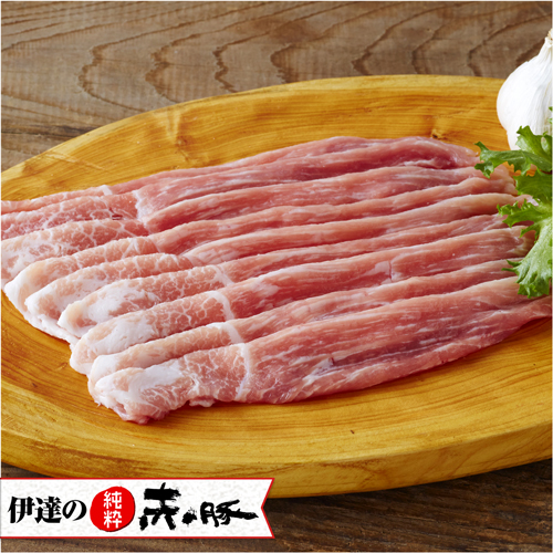 赤豚精肉 モモ スライス