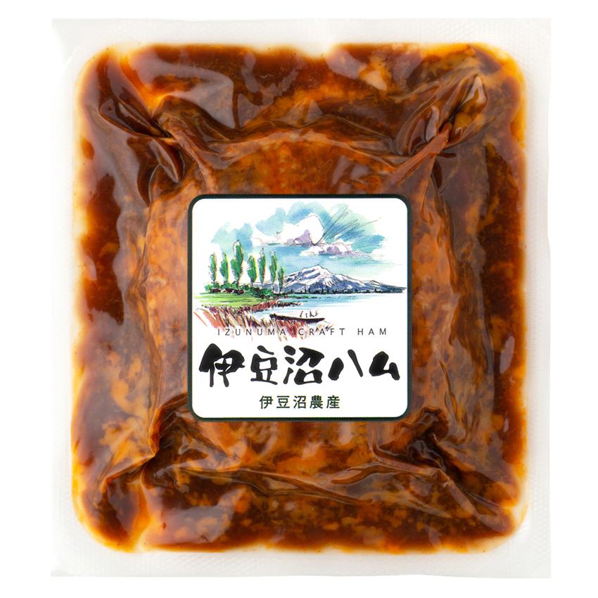【冷凍保存可】伊豆沼豚 煮込みハンバーグデミグラスソース 140g(くんぺる農場レストラン監修 冷凍惣菜 簡単おかず)